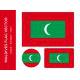 Maldives-Flag