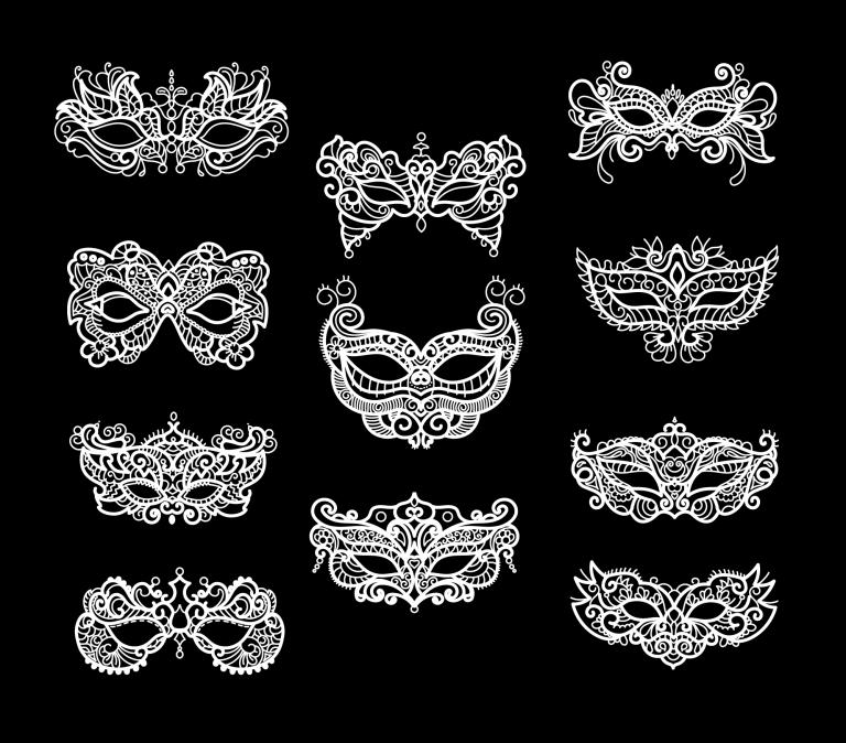 Mardi Gras Masks Free Download