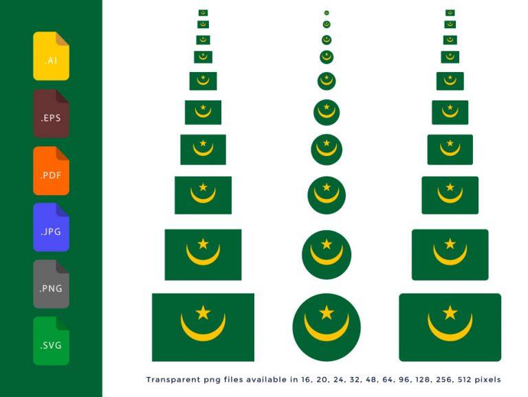 Mauritania-Flag