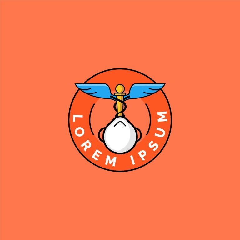 Medical Logo Free Vector Art