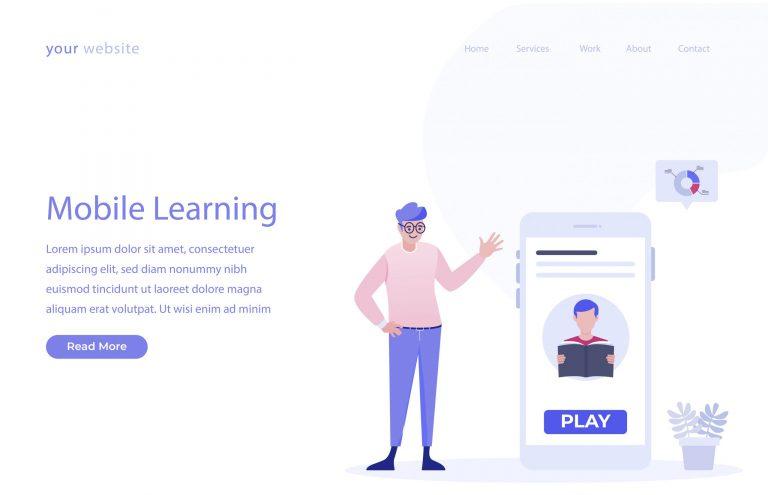 M Learning Illustration