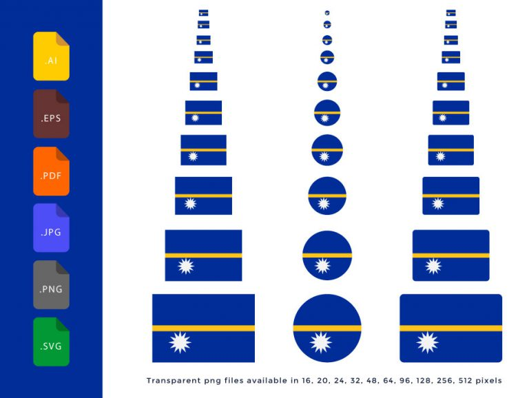 Nauru-Flag
