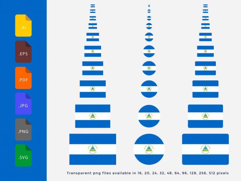 Nicaragua-Flag