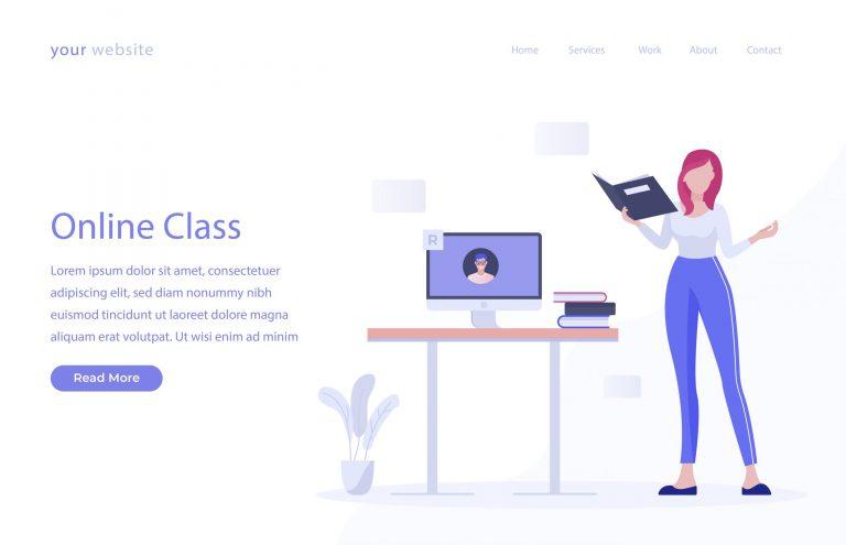 Online Class Vector Download