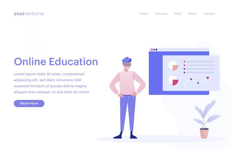 Free Online Education Vector