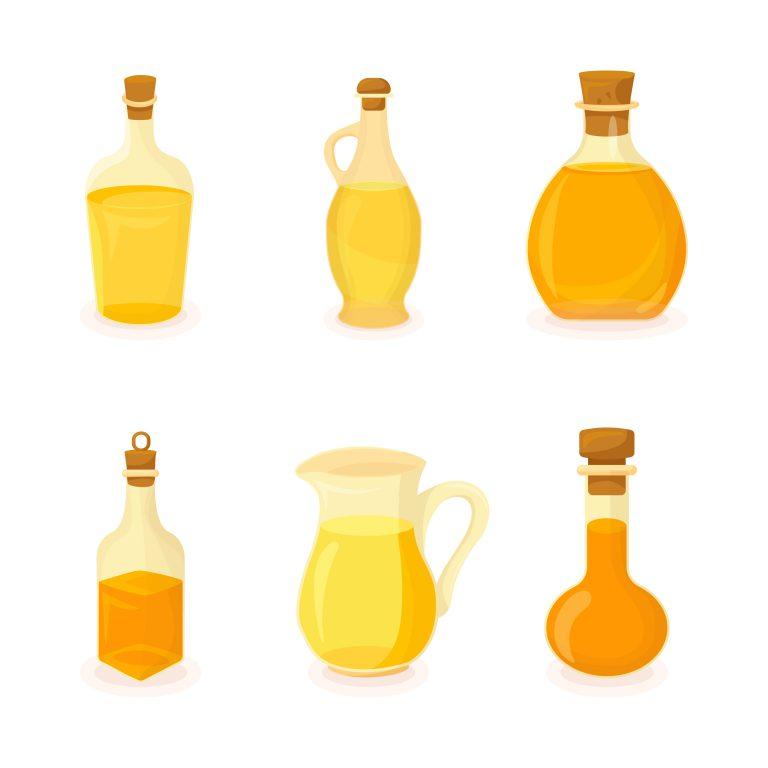 Pack of Oil Bottles