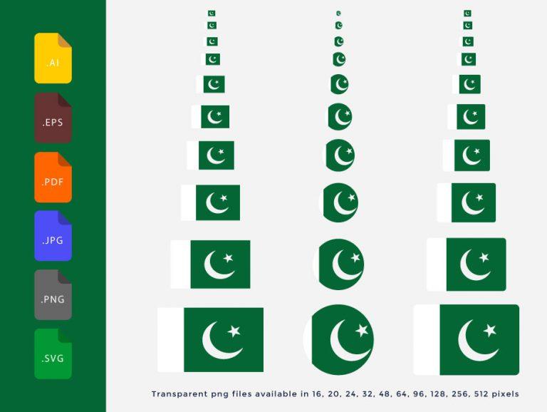 Pakistan-Flag-vector