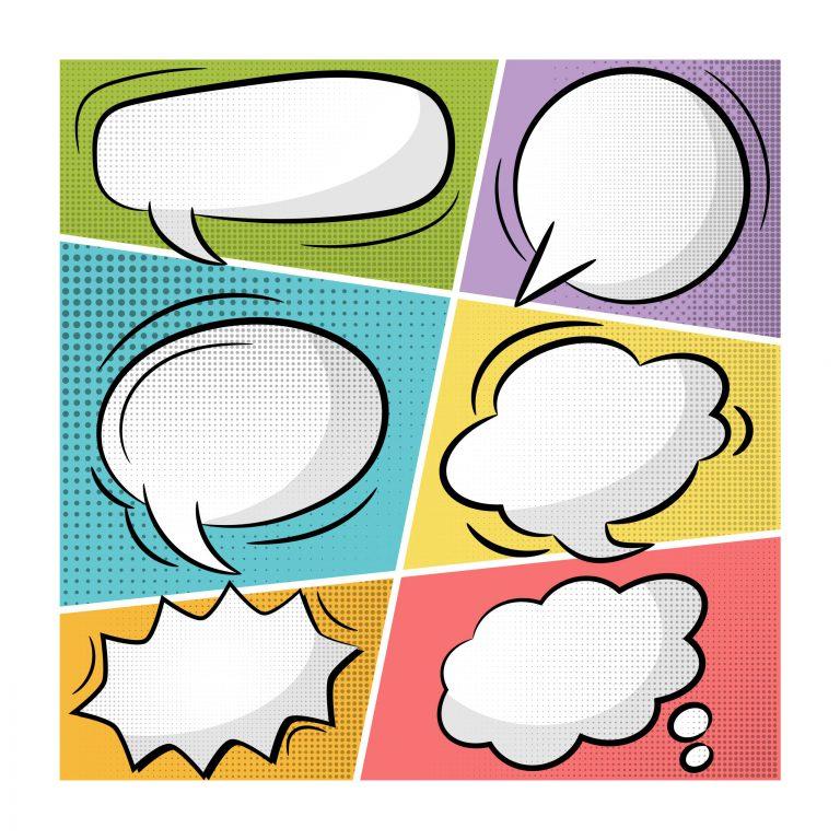 Speech Bubbles Vector Collection
