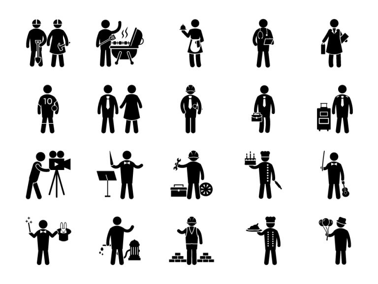Professions Pictograms