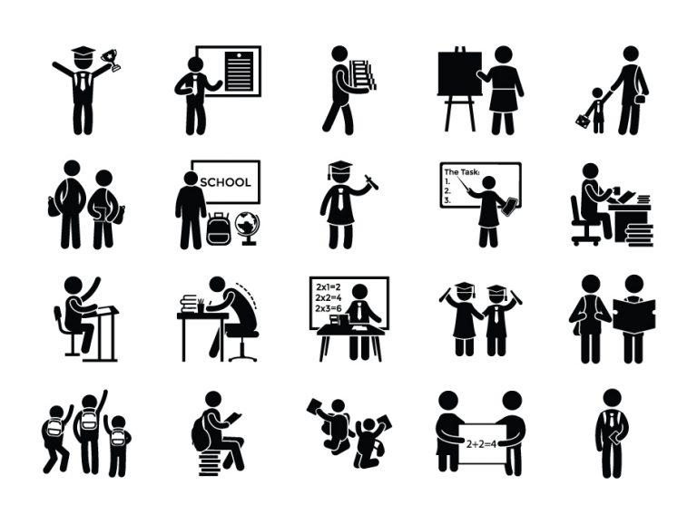 School Pictograms