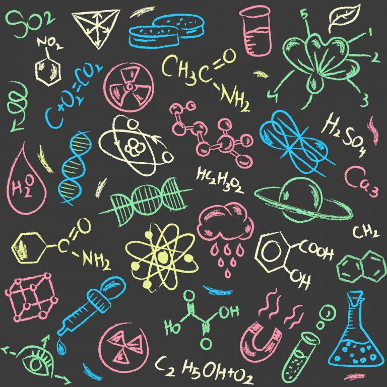 Science Doodle Free Vector Art