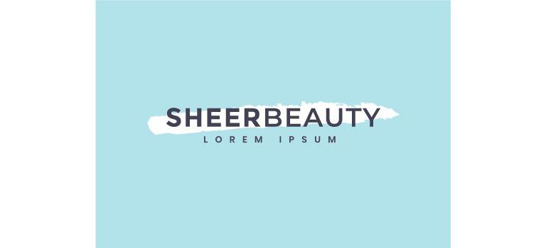 Sheer Beauty Logo Vector