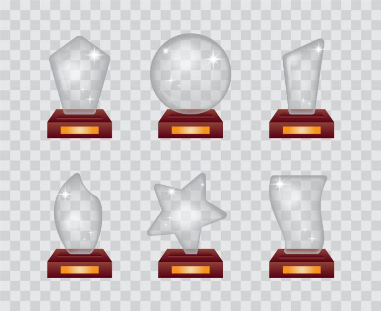 Glass Awards Vectors Download