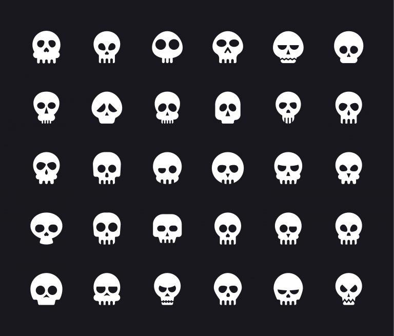 Skull Symbols Pack