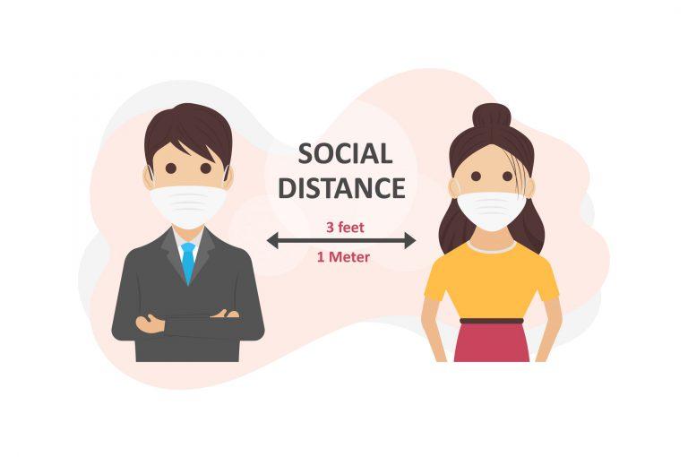 Free Social Distancing Vector Art