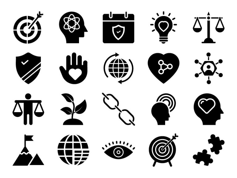 Social Responsibility Icons