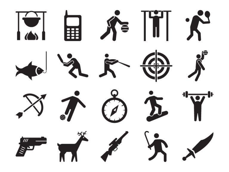 Sportsmen Icons