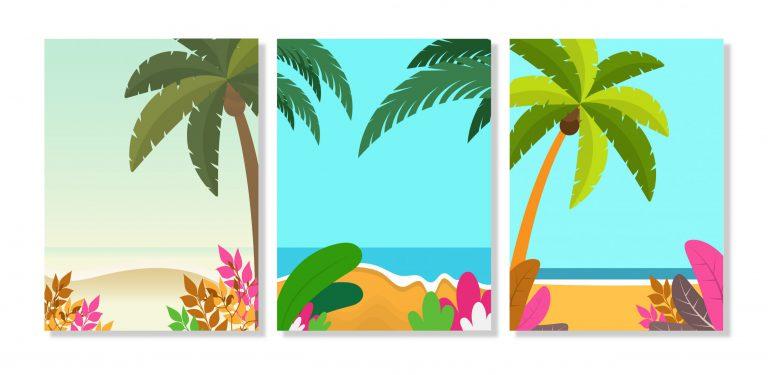 Summer Background Templates