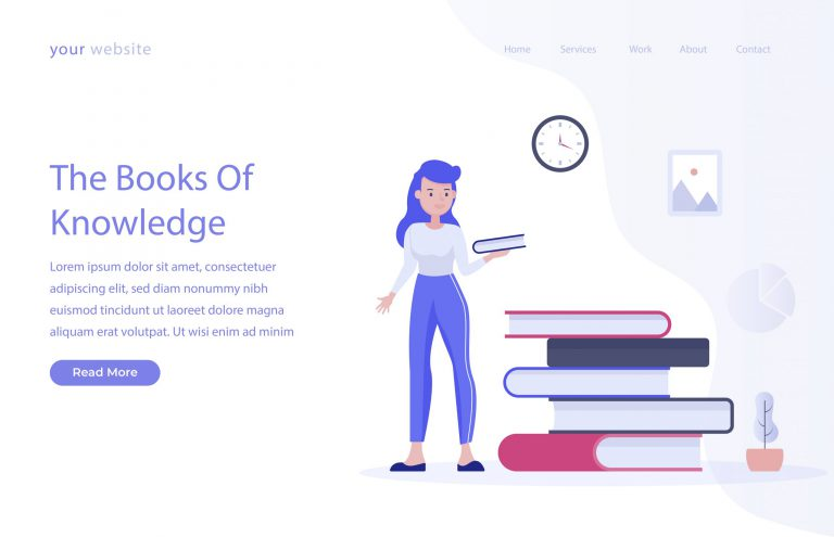 The Books of Knowledge Illustration