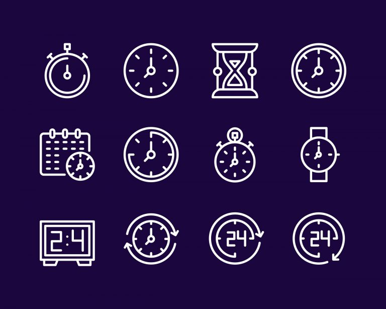 Time Icons Free Download