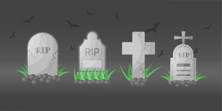 Gravestones Design Vectors Download