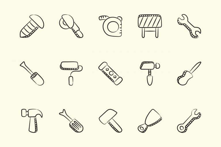 Tool Icons Free Download Linear Vectors
