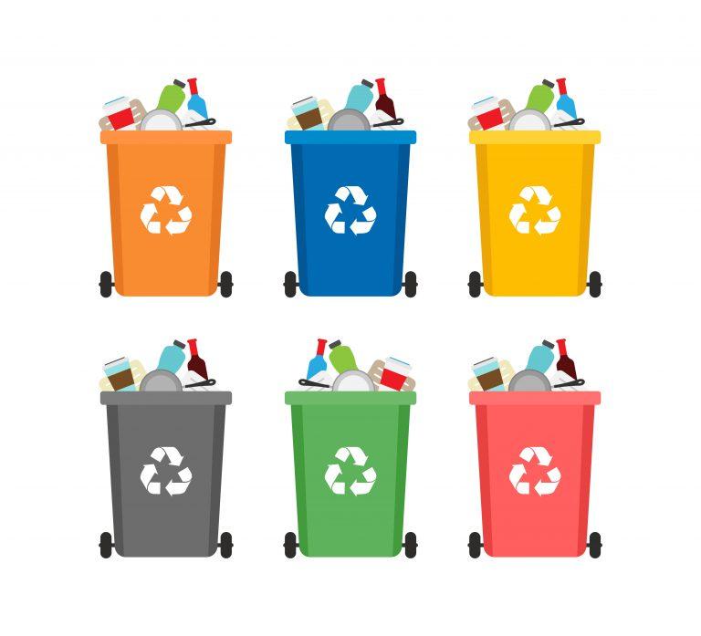 Trash Can Vectors Pack