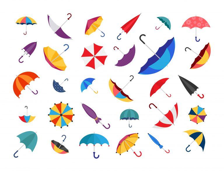 Vector Umbrella Free Download