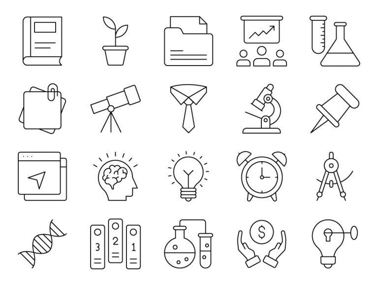 University Icons Free