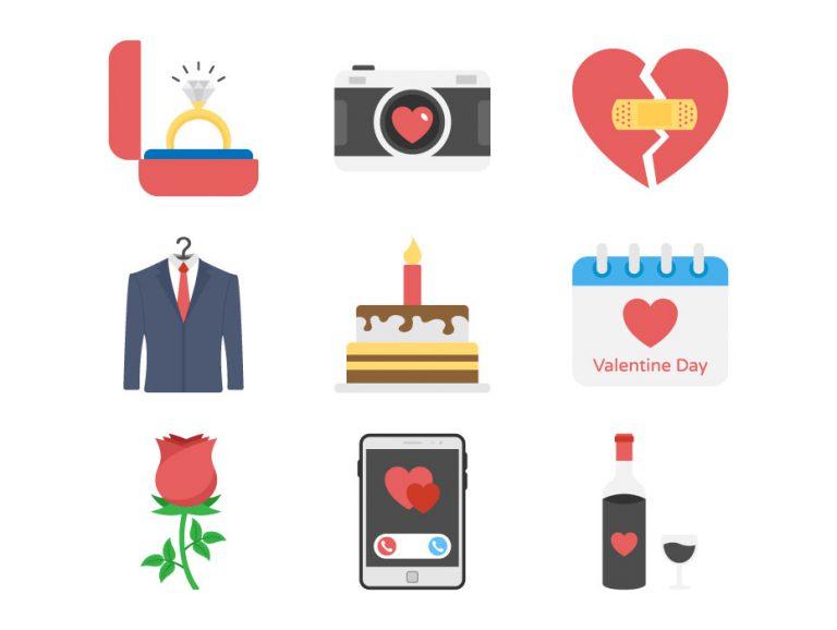 Valentine Day Symbols