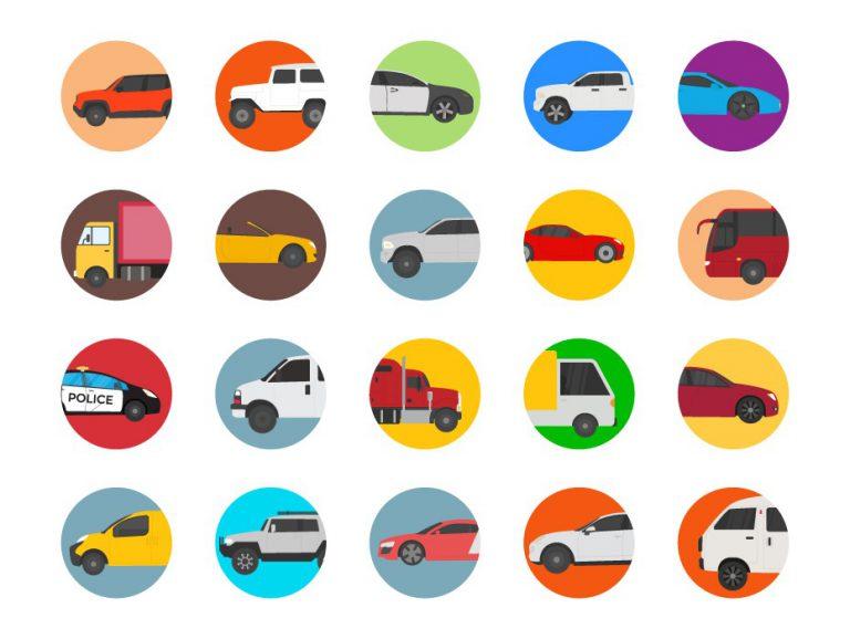 Vehicle Flat Icon