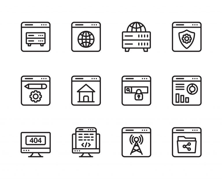 Free Download Web Hosting Icons
