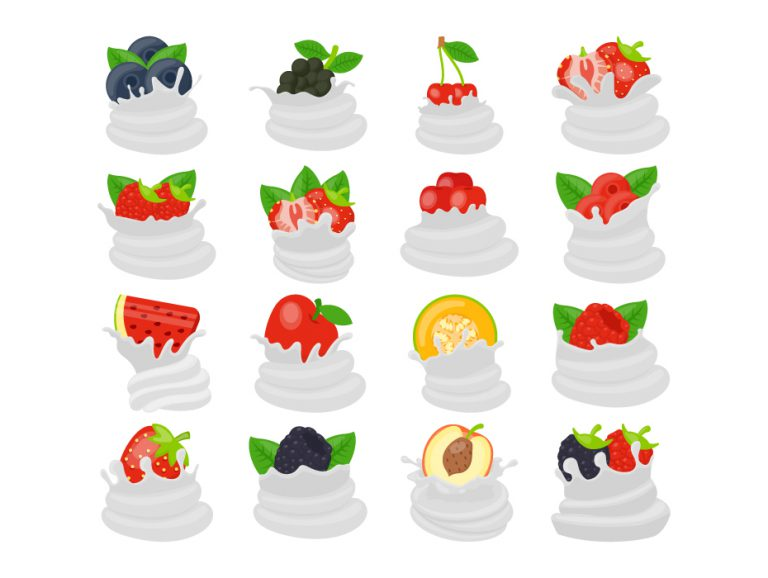 Whipped Cream Toppings Pack