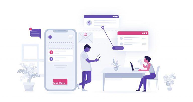 Free Business Website Vector