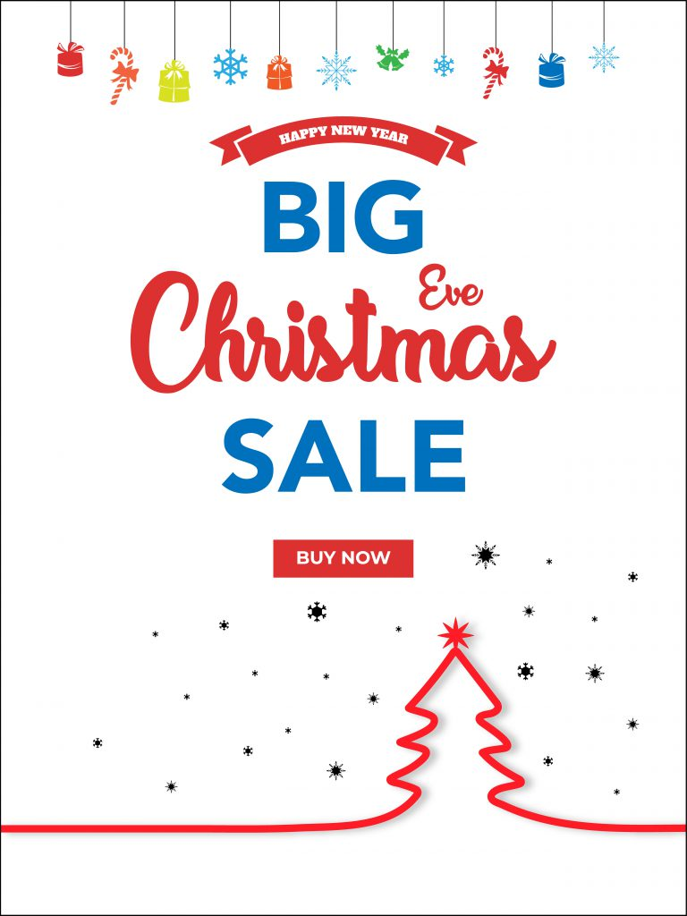 New Year Sales Flyer