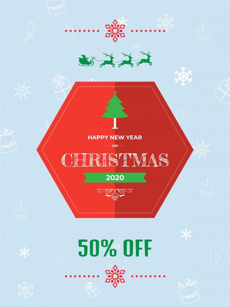 Christmas Flyer Vector