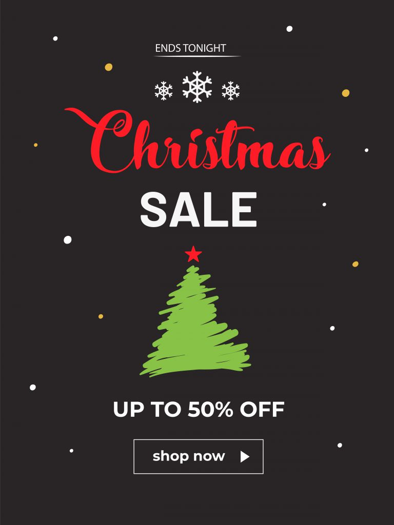 Christmas Clearance Sale Flyer