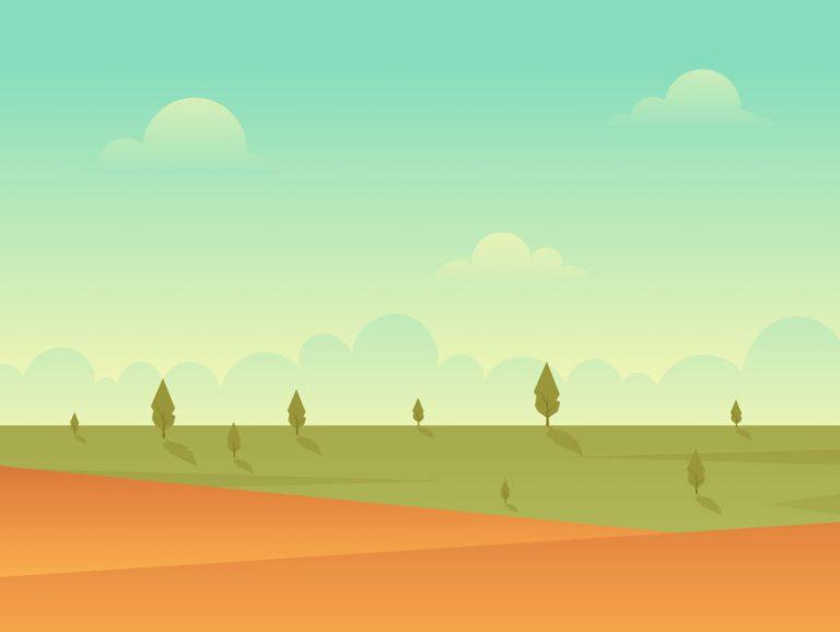 Landscape Illustration Design