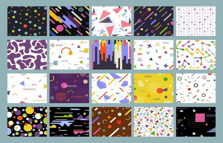 Download 20 Geometric Background Vectors