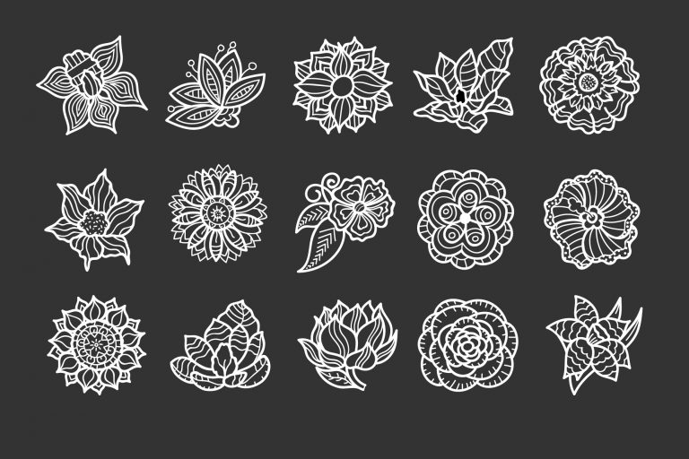 Flowers and Floral Vector Download
