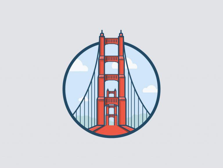 Free Golden Gate San Francisco Illustration
