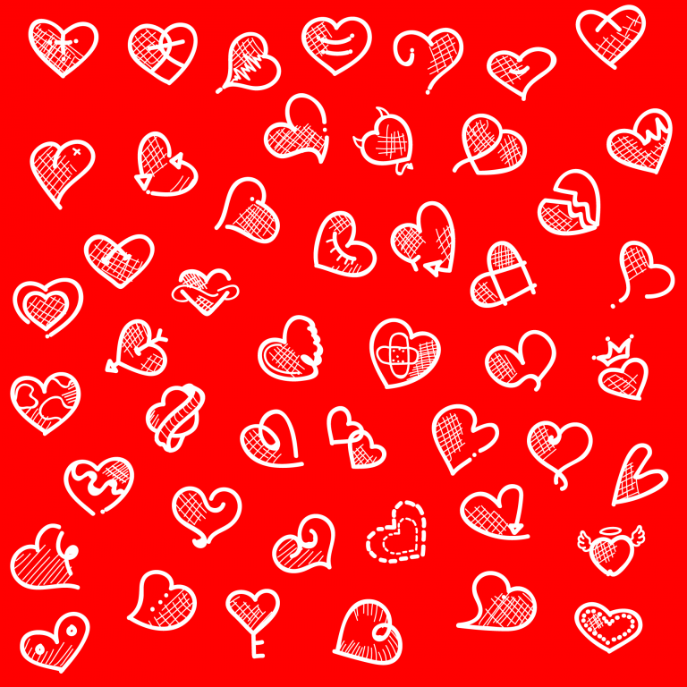 Heart Tattoo Free Vector Art