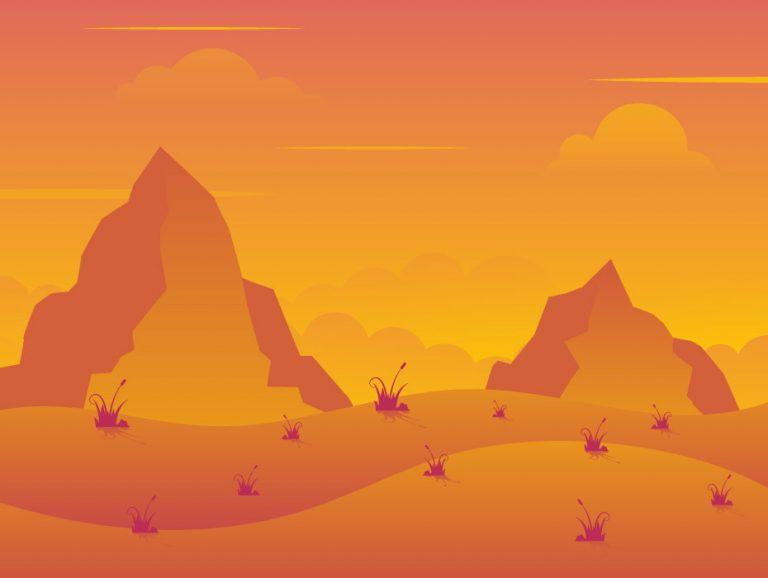 Dawn View Landscape