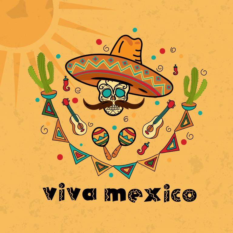 Viva Mexico Vector Free Download
