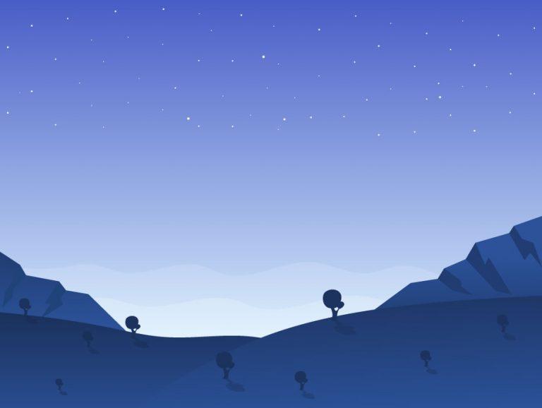 Night View Landscape
