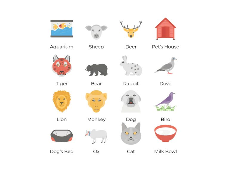 Pets Icon Collection