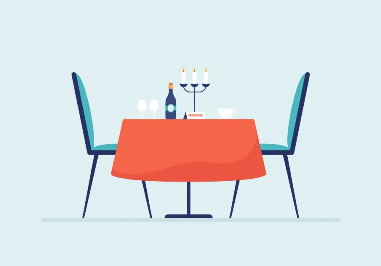 Free Table Reservation Vector